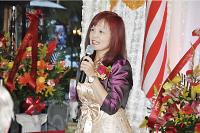 灣區台灣商會徐雅琴將接任23屆會長。(圖:本報檔案照片)