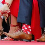 襪子外交這麼夯!杜魯多萌襪 讓梅克爾也低頭