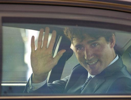 加拿大總理杜魯多。美聯社