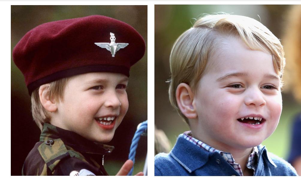 威廉王子一身傘兵打扮。2016年10月1日出訪加拿大,參加軍眷派對。