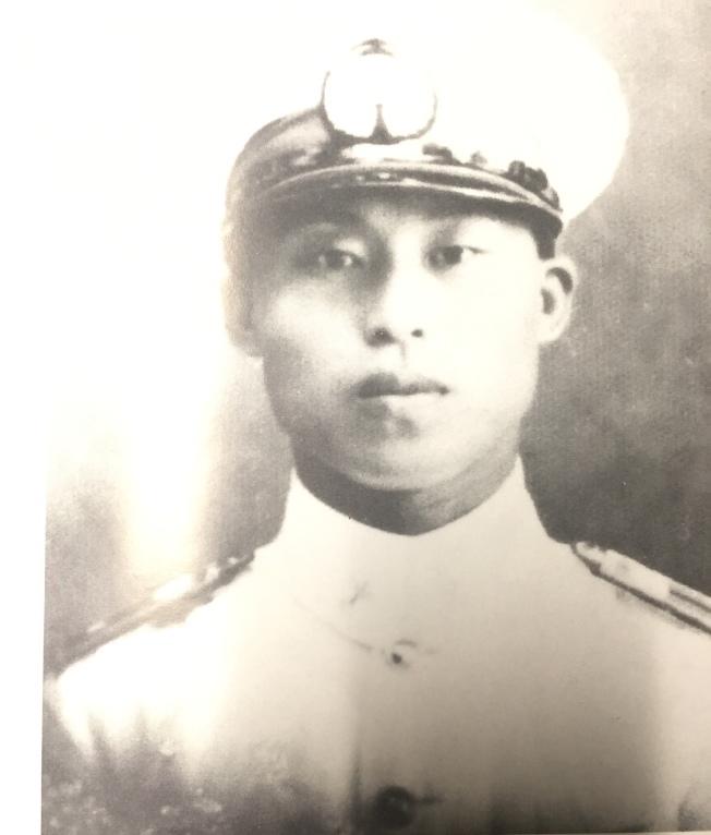 抗日戰爭時期的空軍英雄高志航遺照。(周逸枝/提供)