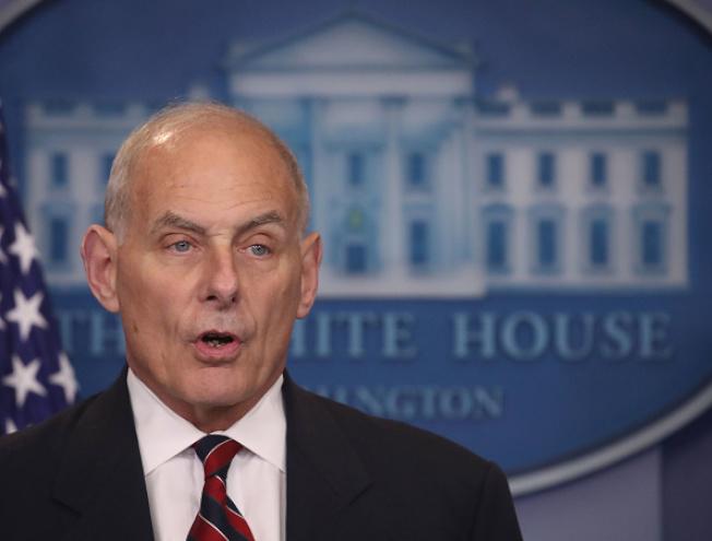 國土安全部部長凱利說,國安部不會為「童年抵美暫緩遣返,DACA」護航。(Getty Images)