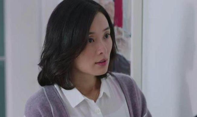 吳越在《我的前半生》中,飾演「小三」凌玲。(取材自微博)