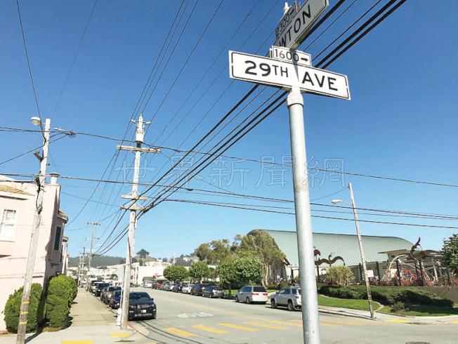 金光黨騙案再在舊金山出現,78歲受害華婦在日落區Lawton街接近第29街處被三名騙徒盯上。(記者李秀蘭/攝影)