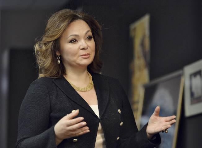 川普總統律師稱,若小唐納和俄國女律師(圖)會面涉及「卑鄙」勾當,為何特勤局讓她進入?(路透)