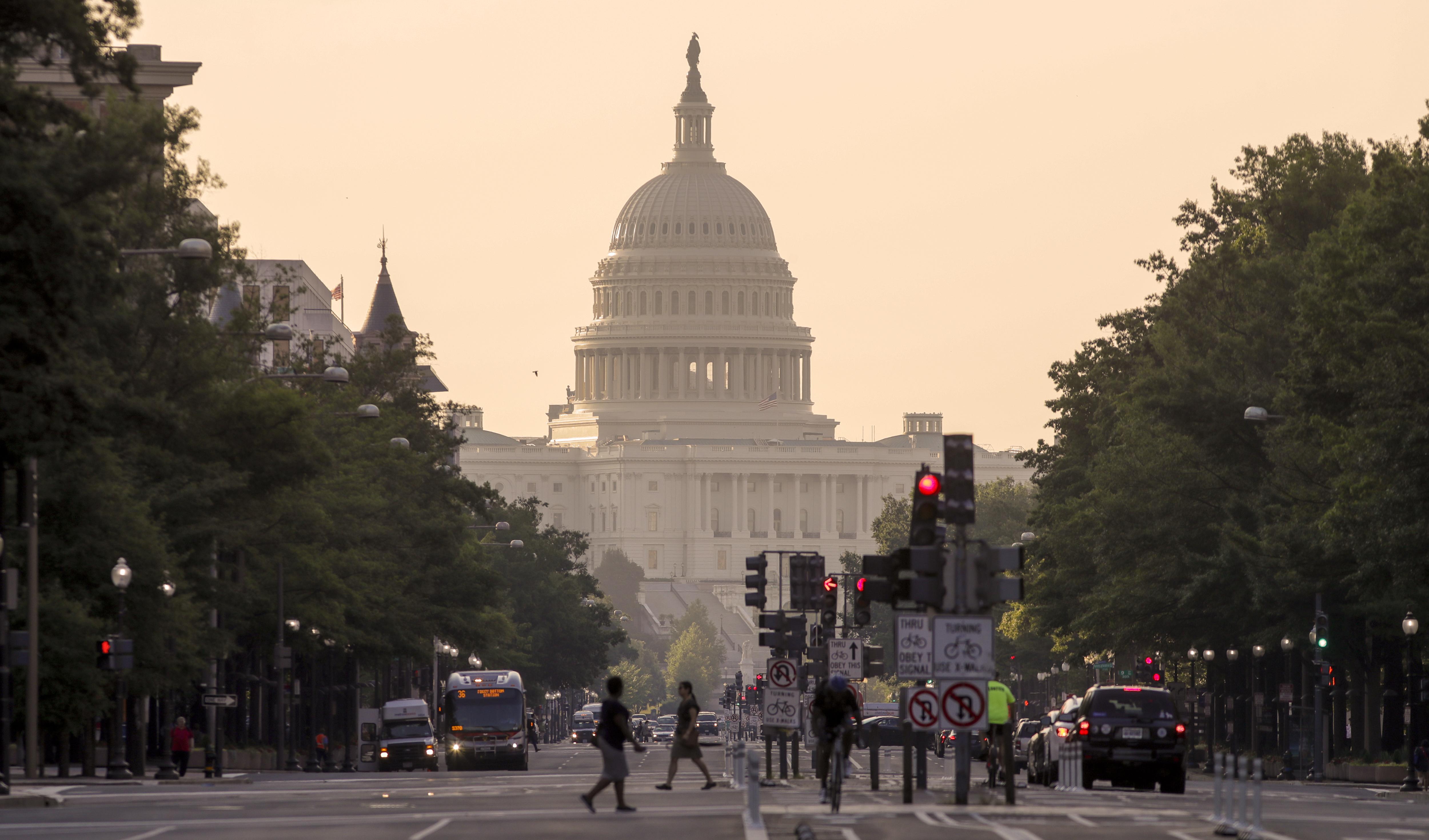 國會原訂本週表決健保法案,被迫延後一週。 (美聯社)