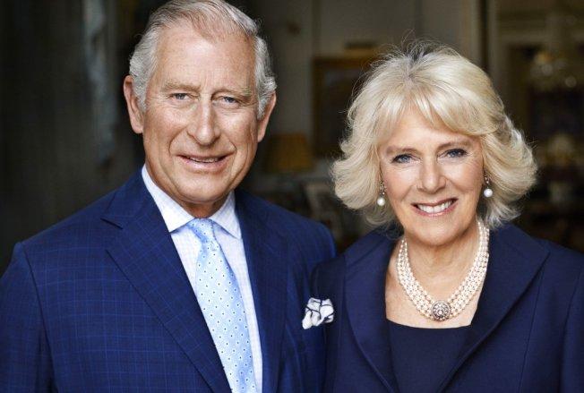 英國王儲查爾斯與卡蜜拉。美聯社