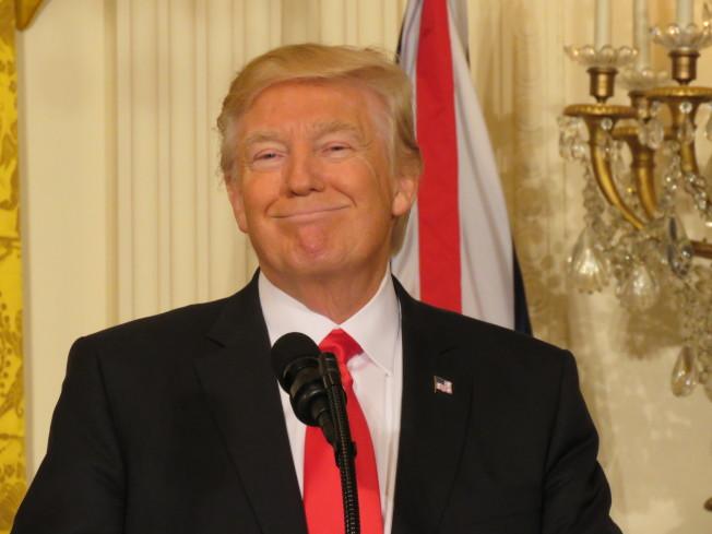 美國總統川普17日在白宮一場活動表示,中國大陸允許美牛進口,他只說了一句話就達成。(聯合報系資料照)