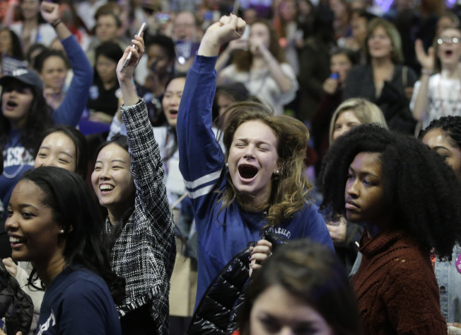 衛斯理學院是美國著名女校。(美聯社)
