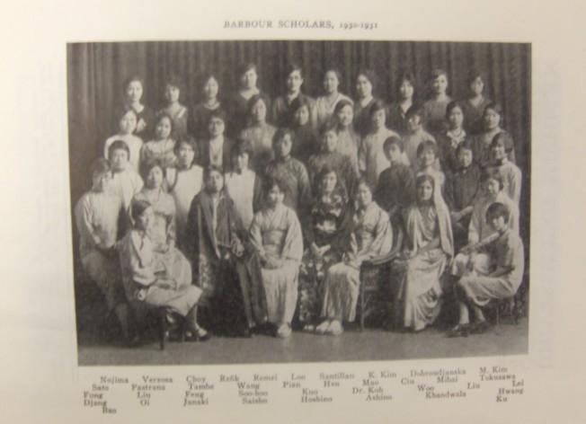 密西根大學巴布爾獎學金資助眾多中國女生來美留學。(陳雁/提供)