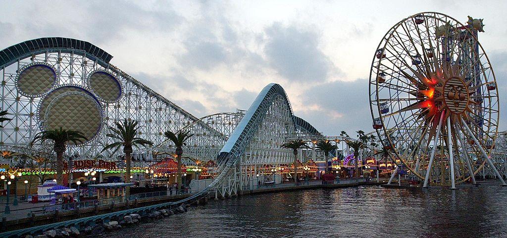 2001/2/6開幕的加州迪士尼樂園,新增了「加州探險」主題公園。(Getty Images)