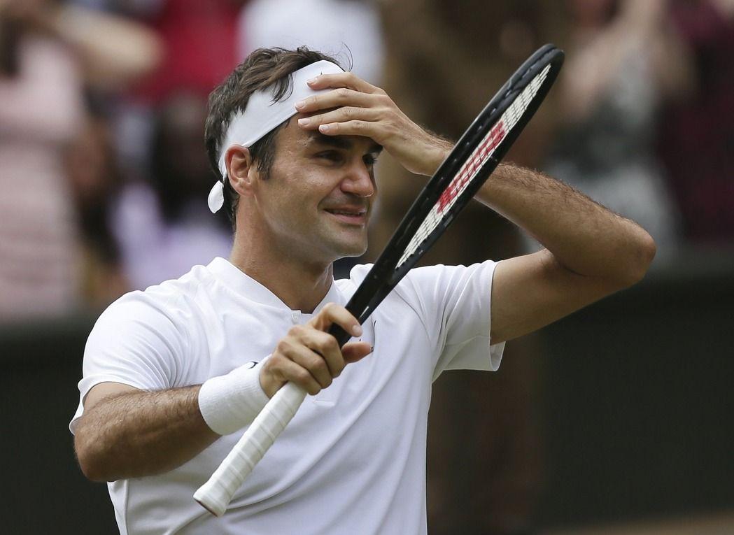 費德勒奪溫網冠軍。(美聯社)