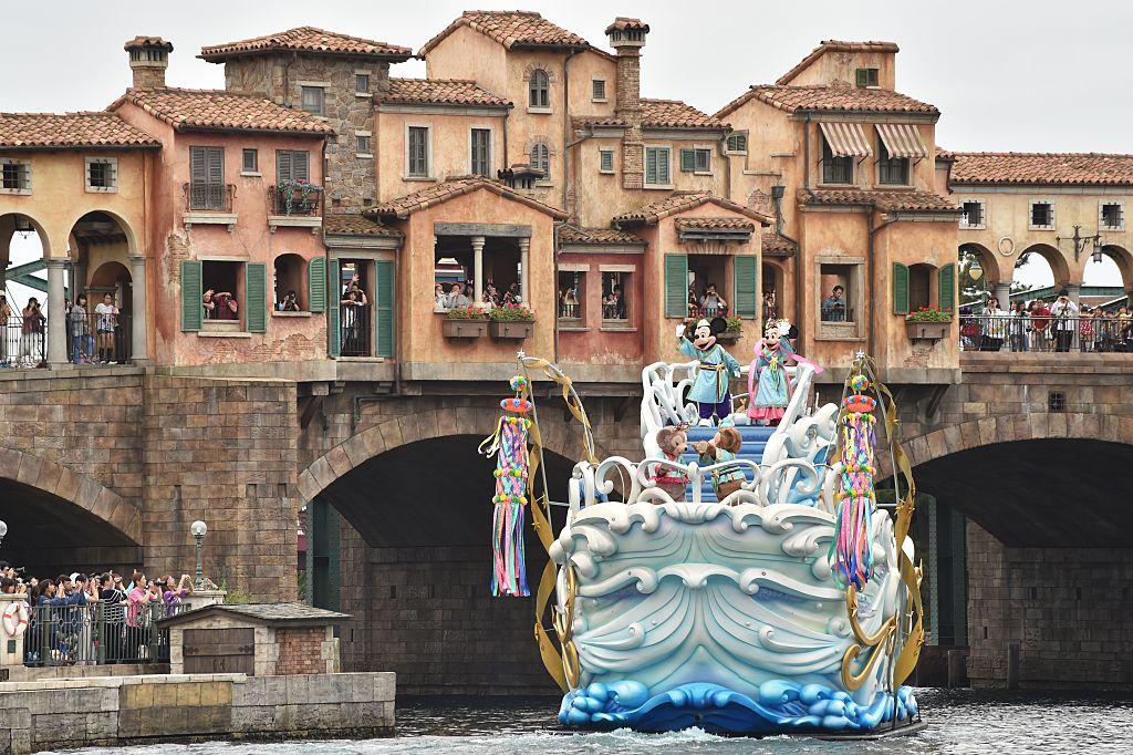 2001/9/4開幕的東京迪士尼海洋樂園。。(Getty Images)