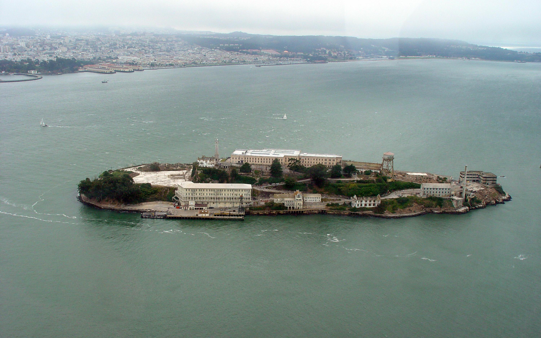 惡魔島位於舊金山灣,與金門大橋為舊金山灣的著名觀光景點。(Getty Images)
