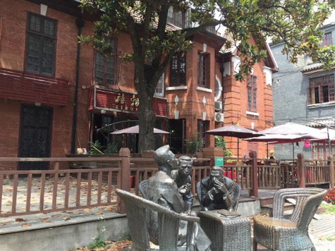 上海多倫路名人巷。