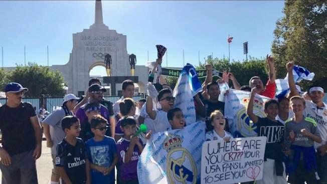洛杉磯紀念體育競技場見證了1932年和1984年兩屆奧運會的輝煌。(記者黃少華/攝影)