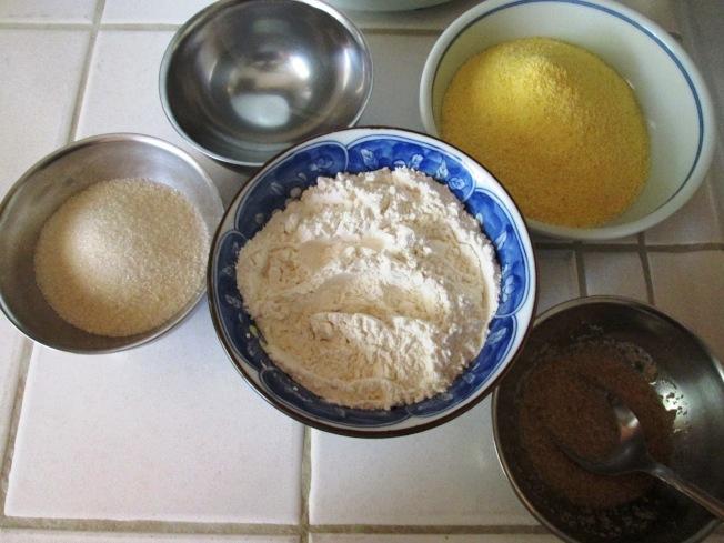 玉米奶油鬆糕