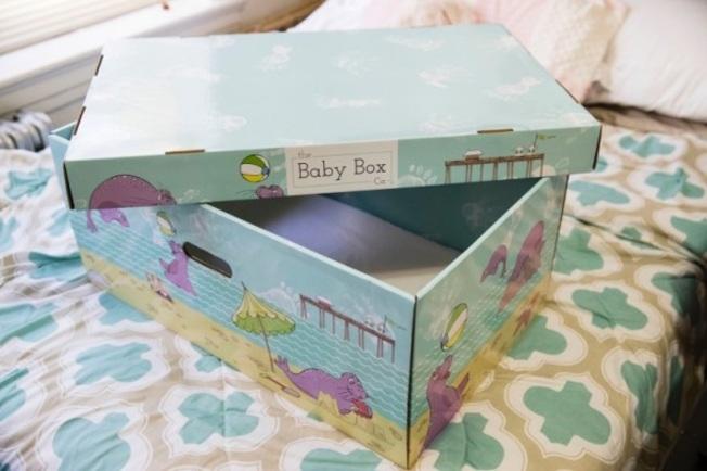 「芬蘭嬰兒箱」的風潮,如今也吹進美國。(美聯社)