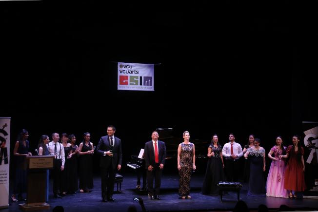 維吉尼亞聯邦大學夏季國際音樂節,名師與來自各國的音樂學生演繹經典。(記者羅曉媛/攝影)