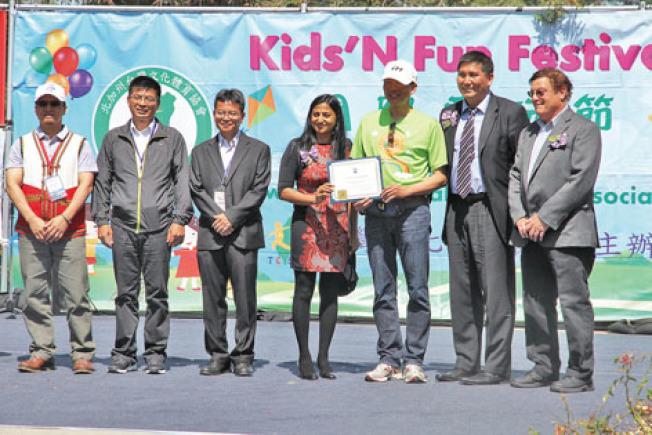 童玩節12日在庫比蒂諾舉行。(記者李榮/攝影)