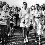 1950年8月22日她改寫非裔女性網球史