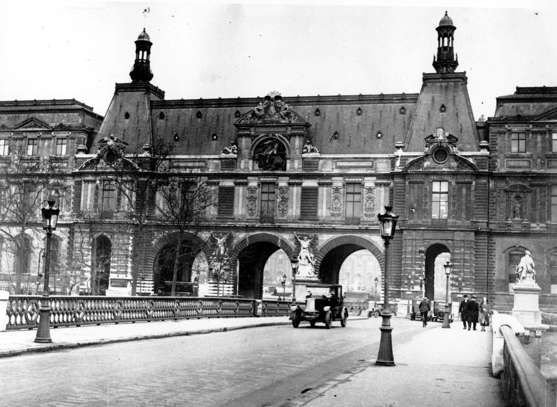 1933年的羅浮宮。 (美聯社)