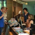 《人物》美國國家博物館 陳素鉛笑迎遊客