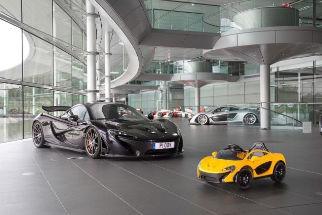 Step2先前也曾與McLaren合作開發出McLaren P1電動兒童車。 (摘自Car Magazine)