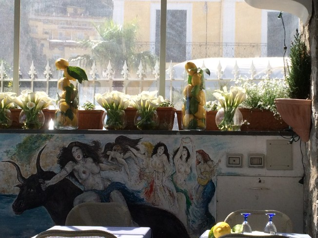 地中海餐廳Ristorante Mediterraneo。