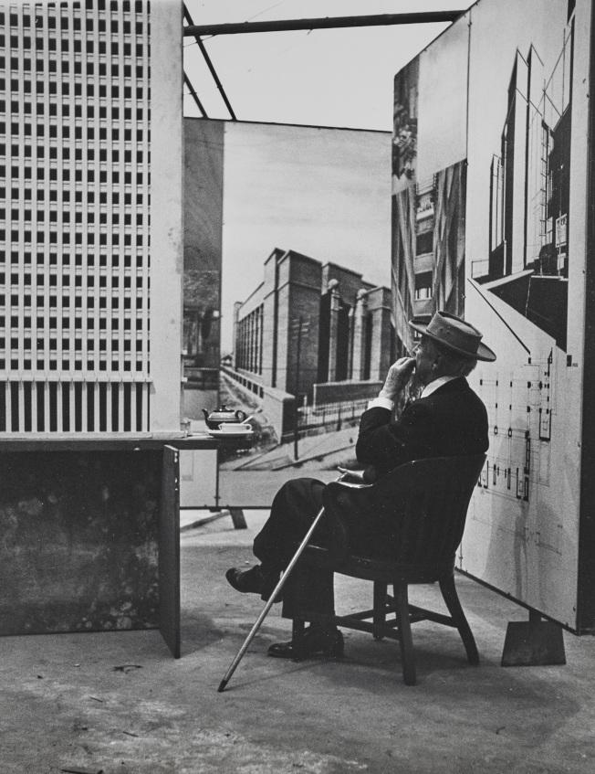 萊特被譽為「美國最偉大的建築師」。(MoMA提供)