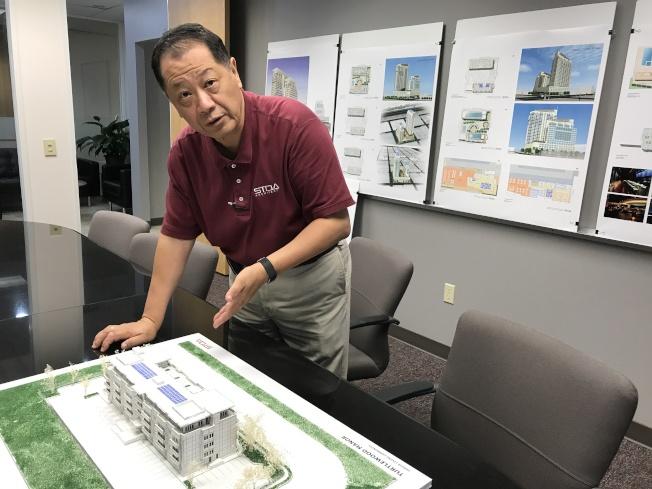 李兆瓊說,「祥瑞花園」是一棟綠色建築,採用高檔建材,僅有62戶,居家功能極強。