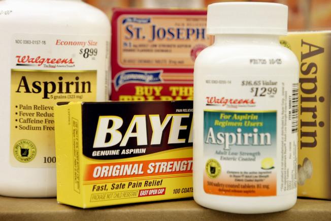 每天服用微量阿斯匹靈可降低患大腸癌的風險,但一旦罹患,卻可能更難治療。(Getty Images)