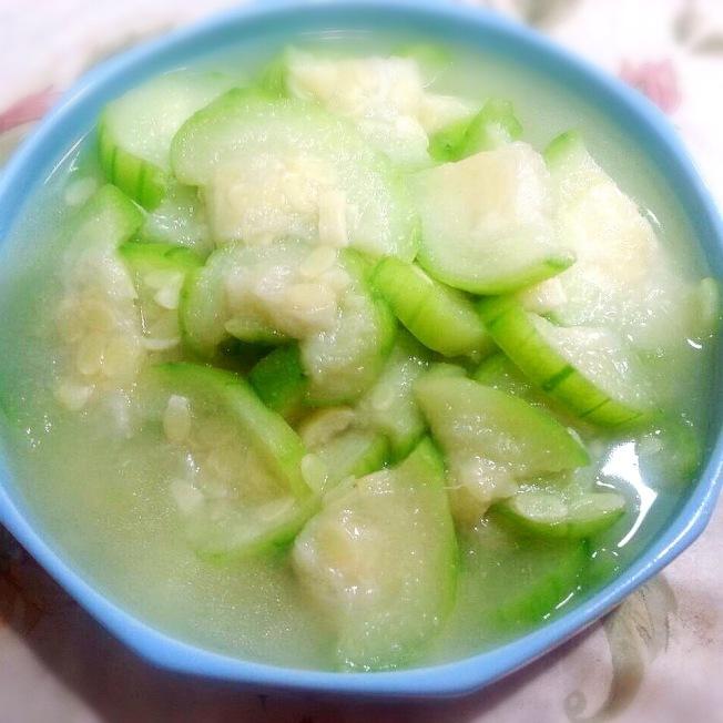 傳統蒜味絲瓜