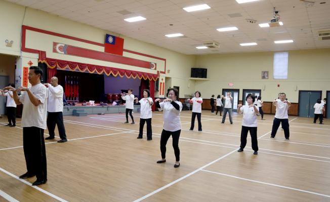 亞特蘭大華僑文教中心開放僑胞作為厄瑪颶風臨時避難所。該中心平日舉辦各項活動,約可容納500多人。(記者張蕙燕/攝影)