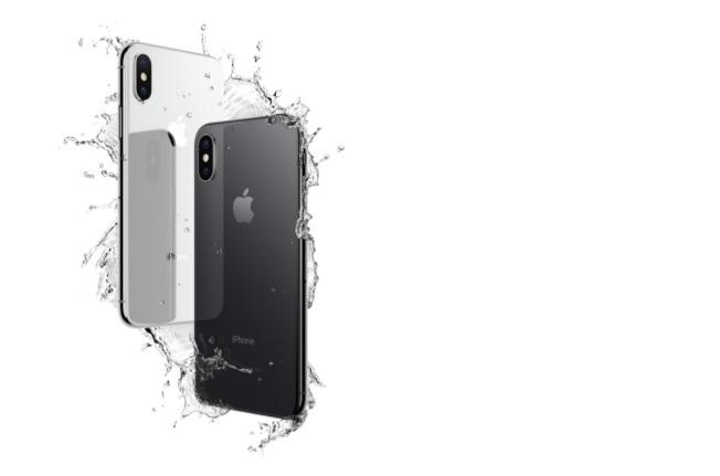 iPhone X採用直立式雙鏡頭設計。圖/摘自蘋果官網