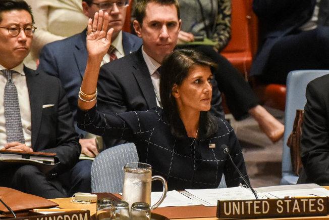 聯合國安理會通過最新一波對北韓的經濟制裁。(路透)