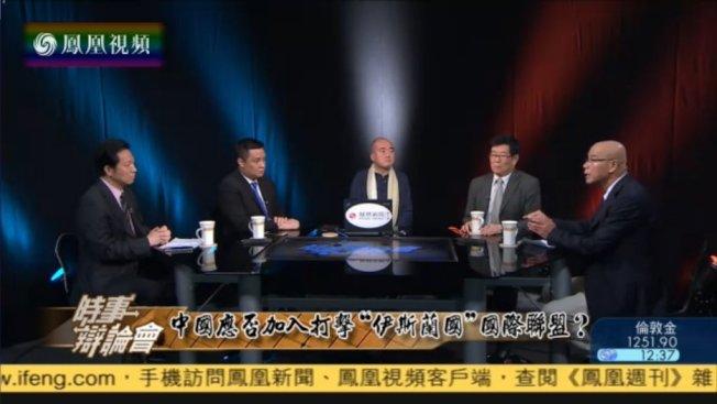 中國及香港幾檔受歡迎的談話節目先後停播,圖為「時事辯論會」。(取自推特)