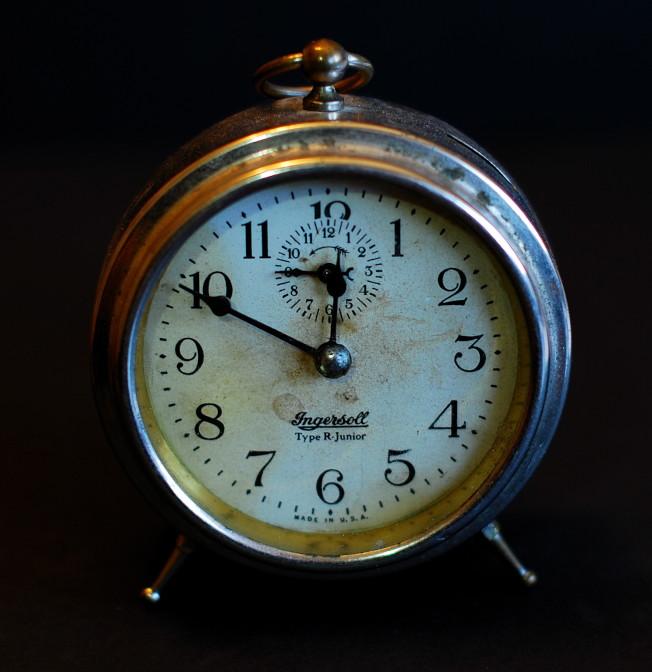 過去每天早上定時叫我們起床的鬧鐘,在iPhone出現後正一步步淡出人類生活。(路透)