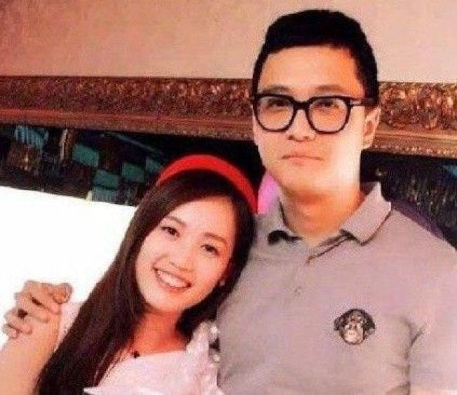 馬蓉與宋喆。圖/摘自微博
