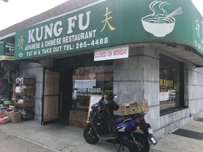 中餐館華裔外賣郎,送餐時遇劫。(記者黃伊奕/攝影)