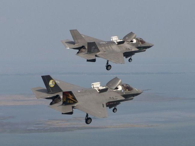 F-35B戰機。(圖:洛克希德馬丁公司)