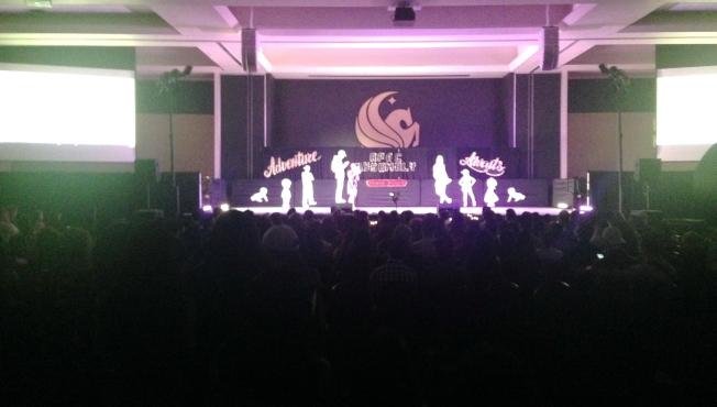 中佛羅里達大學亞太學生聯盟APAC第12屆年會活動一景。(鄭鴻鈞提供)