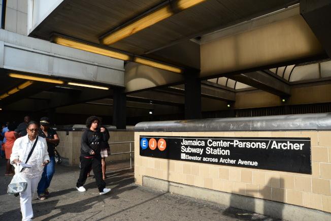 牙買加交通便捷,地鐵有E、J、Z線。(記者許振輝/攝影)
