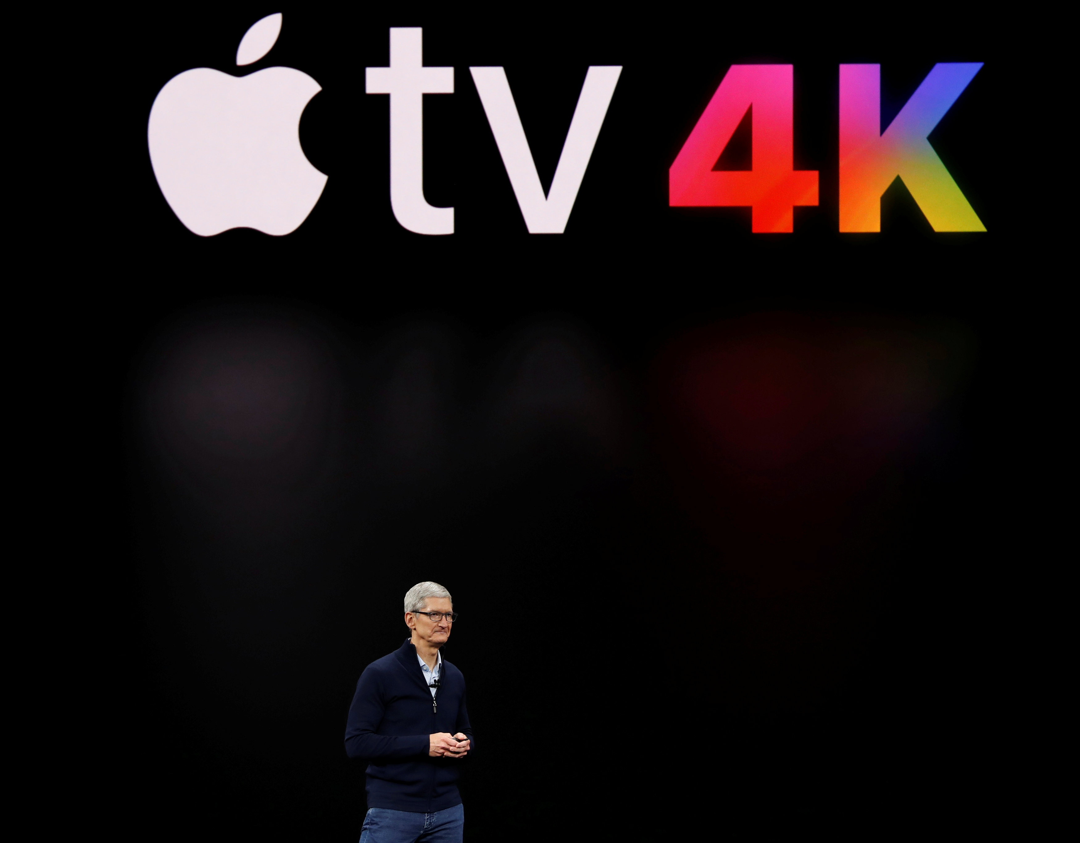 Apple TV 4K。路透