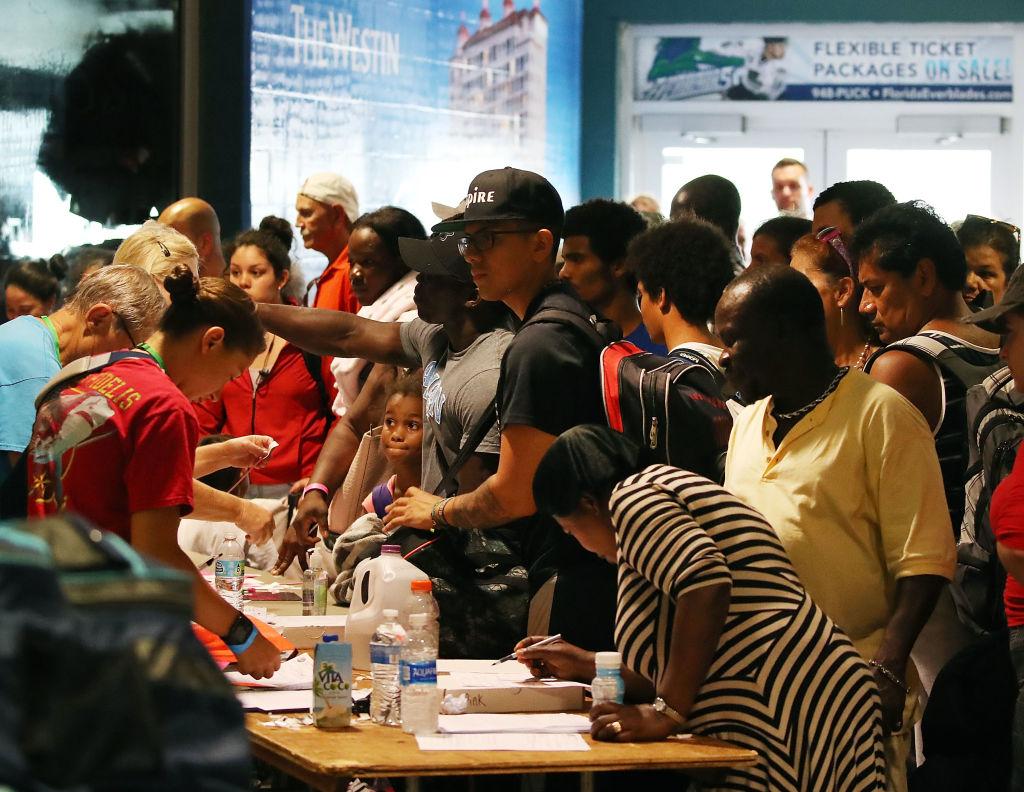 厄瑪颶風來襲,這次共撤離630萬居民。(Getty Images)