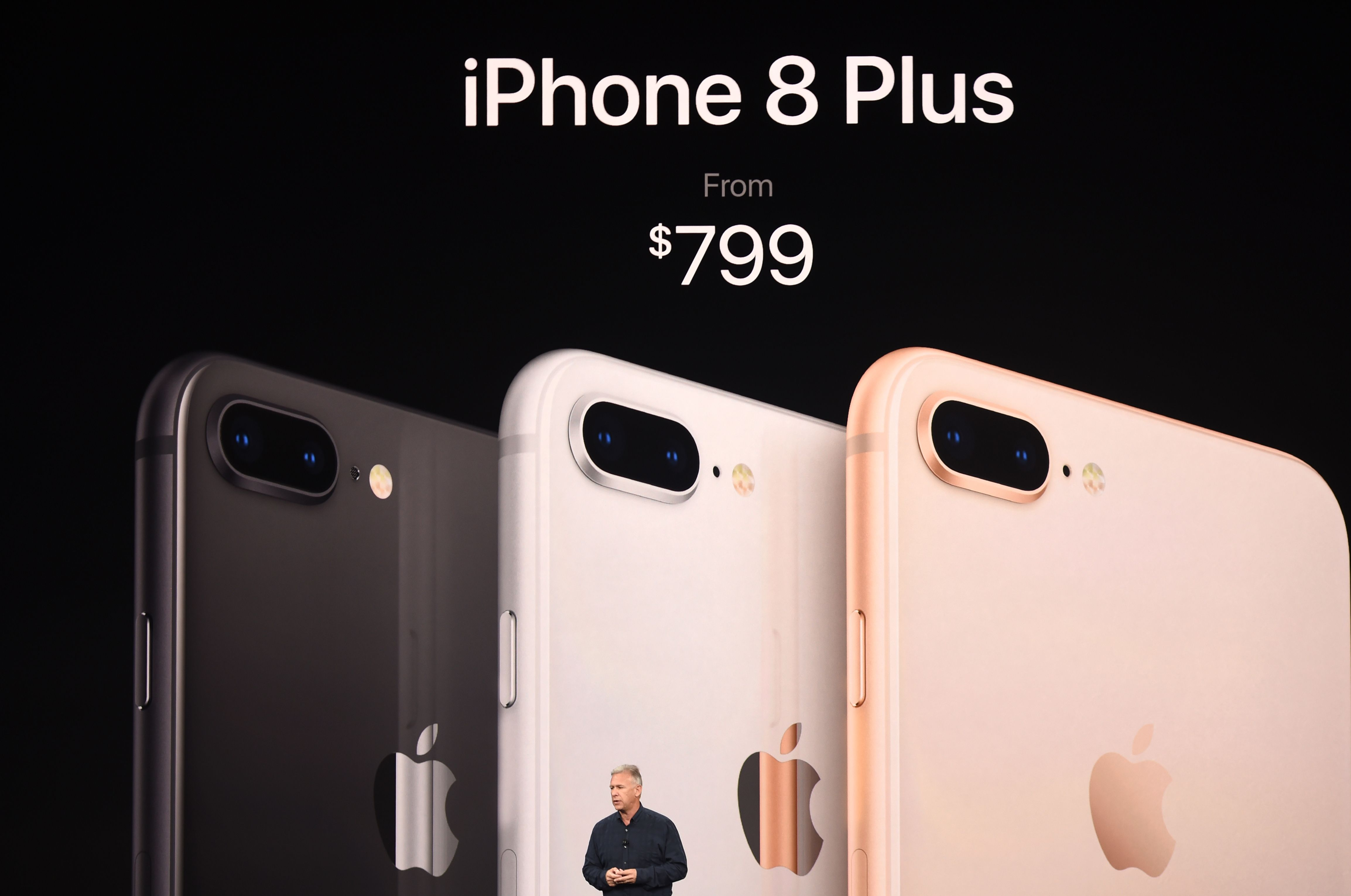 iPhone 8/ 8 PLUS。Getty Images