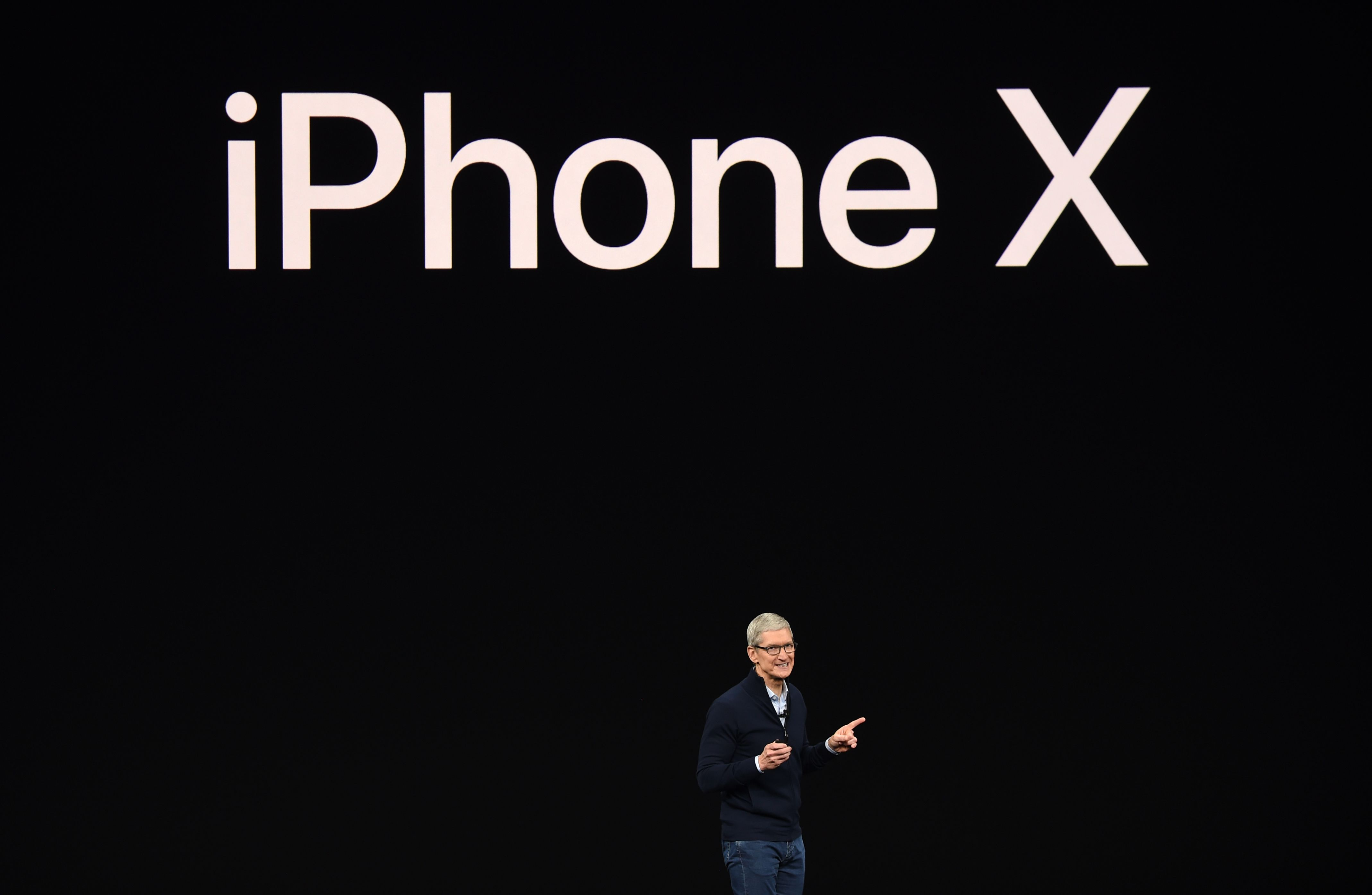 iPhone X。Getty Images