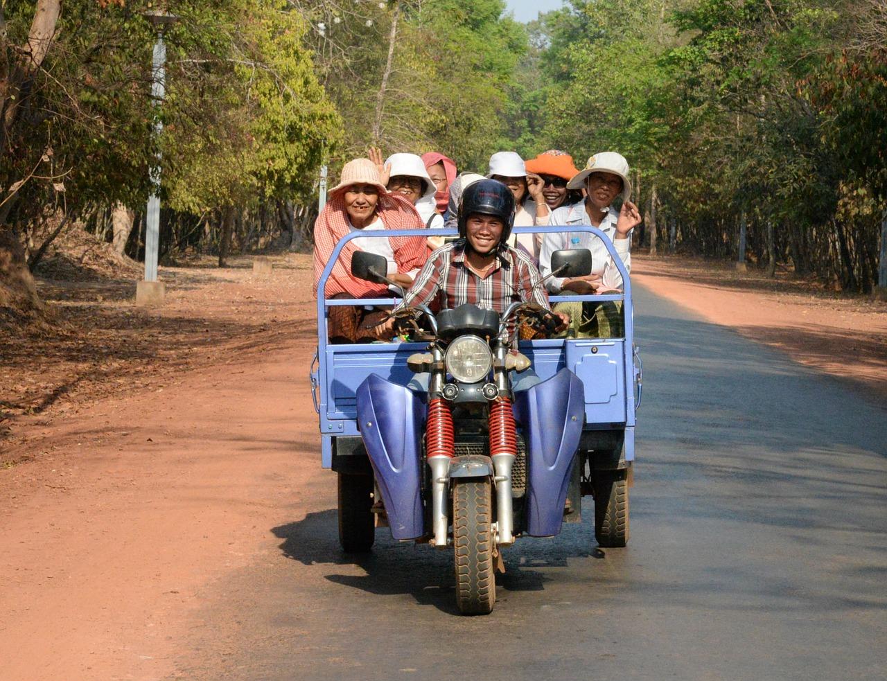 柬埔寨當地民眾(Pixabay)