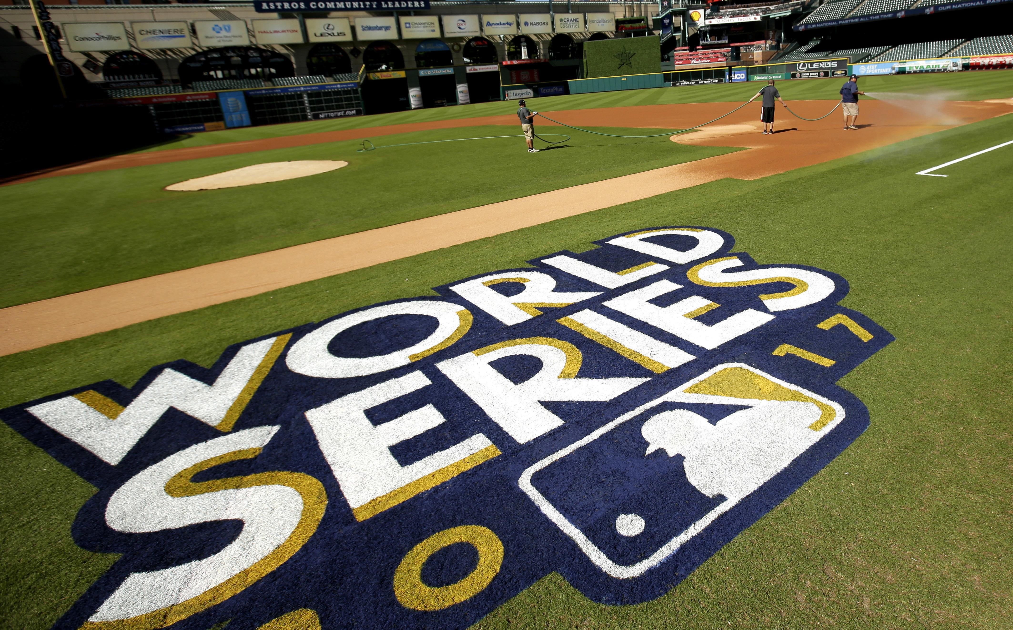 2017年美國職棒世界大賽正展開激戰。(美聯社)
