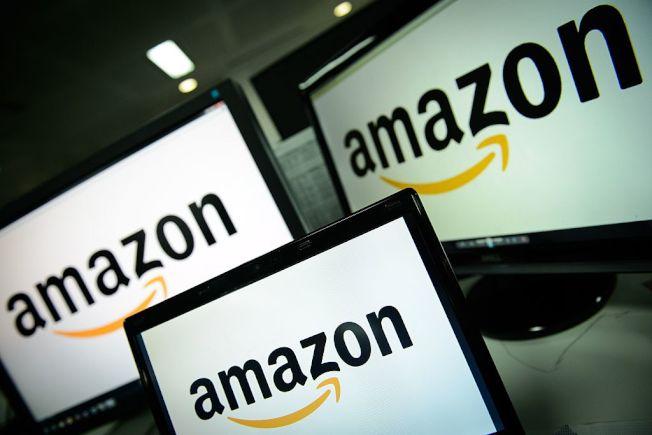 電商巨頭亞馬遜。(Getty Images)